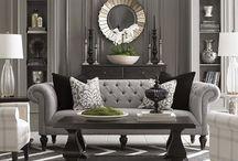 Salas, idéias e + / Meu estilo e ambientes que admiro na decoração