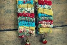 gorgeous fabric jewellery
