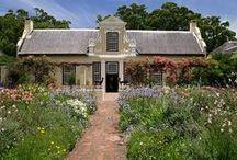 Cape Dutch garden