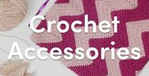 Crochet Accessories / Do you love to jazz up your outfit with fun crochet accessories? We have some cool projects for you - simply download and get started!