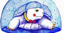 schildpadden (tekeningen en andere creatieve uitspattingen) / schildpadden