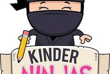 Kinder Ninjas / Everything Kindergarten!  Kindergarten printables, crafts, games, worksheets, activities, ideas, tips, classroom organization and more!  Science, Math, Language Arts, Learning to Read, Alphabet, History, Social Studies.  Pinners up to 5 unique pins per day please.