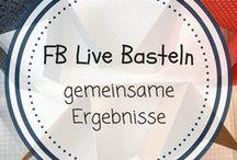 FB Live Basteln - gemeinsame Ergebnisse / Auf dieser gemeinsamen Pinnwand sammeln wir unsere Ergebnisse aus dem gemeinsamen Live Basteln - das donnerstags um 21.00 Uhr auf meiner FB Seite Frau Wolkenblau oder auch mal auf meinem Profil Petra Wenninger statt findet. Ich freu mich auf viele Mitpinner ;-)