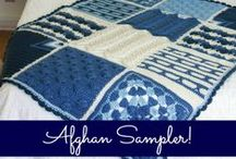 Free Crochet Afghan Sampler Patterns / Free crochet afghan sampler squares featured in season 3 of Knit and Crochet Now! TV. / by Knit and Crochet Now!