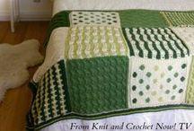 Free Knit Afghan Sampler Patterns / Free knit afghan sampler squares featured in season 3 of Knit and Crochet Now! TV. / by Knit and Crochet Now!