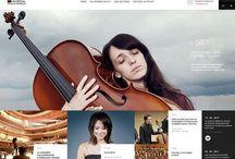 web design / Pour les yeux et l'inspiration.