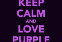Purple / My favorite color