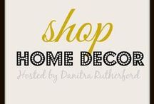 * Shop Home Decor / This group board is a compilation of home decor products and services offered by various pinners. Note to contributors: Please include the price and correct url for each pin.  Spammers and unrelated content will be removed. Follow @nitrasnook & comment on her 1st board : MEMOS : to be added. Thank you for your interest.