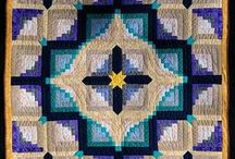 Log Cabin quilts / Quilts using Log Cabin design