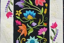 Applique quilts / Applique quilt patterns