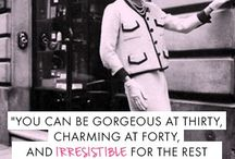 Coco Chanel / Famous quotes from Coco Chanel