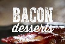 Bacon Desserts / The only way to make dessert better is to cover it in bacon. Try all of these bacon dessert ideas to end your meal on a high note.