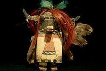 Masque polychrome / Mask, tribal, contemporain, ethnic