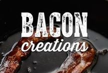 Bacon Creations / Literally anything is possible if you believe. And bacon. Here's a collection of our favorite Bacon Creations.