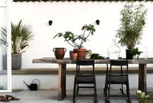 // Outdoor // / Outdoor furnitures, balonies, terraces, gardens