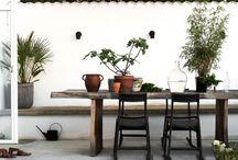 // Outdoor // / Outdoor furnitures, balonies, terraces, gardens