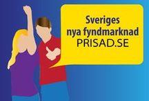 Prisad / Prisad är en handelsplats med anslutna företag från hela Sverige. Genom att varorna levereras direkt från företagen finns det unika produkter och kvalitetsprodukter som är närmast omöjliga att köpa någon annanstans. Företagen har förbundit sig att ha sitt lägsta pris här på Prisad. Många företag är tillverkare eller importörer så grossist- och detaljistledet bortfaller vilket resulterar i lägre priser.