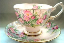 TEACUPS - Mostly Tea Cups / by Penny Nattress Moonstone