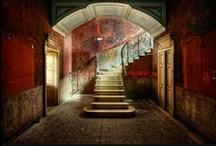 ARCHITECTURE - Stylish Abandon / Mostly uninhabited with an elder shabby elegance.  / by Penny Nattress Moonstone