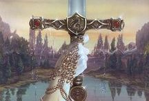 ~ Excalibur ~ / Arthurian Legend: The magical world of Camelot, Merlin, King Aurthur, Guinevere, Lancelot, the Knights of the Round Table, Morgan Le Fay, Avalon, & Lady of the Lake.