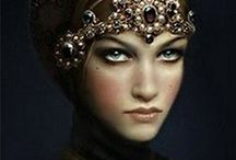 ~ Fierce Goddess ~ / There's something about the dangerous gleam in her eyes; she must be a goddess.