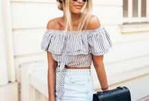spring & summer fashion / outfit inspiration for the warmer months.