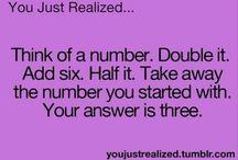 Math! / Funny math jokes group board!