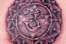 Tattoos by Drew Miniear of Pineal Paradise