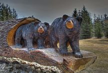 Chainsaw art / Chainsaw art and carvings!