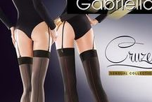 Hold Ups & Tights Collection / Luxury European stockings, hold ups and tights from European brands Gabriella and Ballerina. Browse the full collection here: http://www.charmandlaceboutique.com/hosiery/