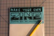 ZINES / Zines. Small self publishing books.