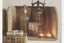 Home Decorations / Decoraties in een frans-Scandinavische stijl waar ik van hou.