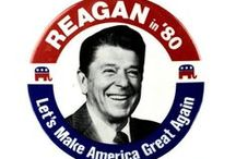 President Ronald Reagan / One of our greatest Presidents and leaders.