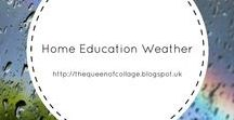 Home Education Weather / Educating kids about the weather