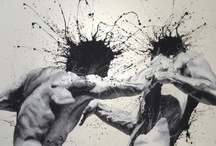 """Paolo Troilo / Italian artist. His last major project: """"Azioni - Reazioni"""", consisted of a series of one-man shows in various Italian cities."""