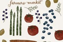 -FARMERS MARKET- / Give your local farmers' market a try!  Fresh, seasonal food from farmers who care!