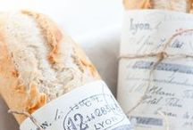 -BREADS- / My daughter is an artisan bread vendor, and the smell of freshly baked bread wafts through our house continually...bliss.