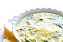 -SOUPS- / Soup...the aroma cooking on the stove, the hearty goodness on a cold winter's day...comfort in a bowl.