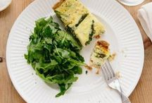-SPRING RECIPES- / Recipes using the seasonal produce of spring.