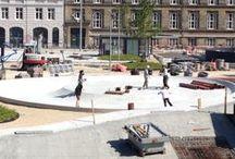 Israels Plads, København / Jeg har byens bedste pladser, hvis man vil følge med i ombygningen af Israels Plads. Nej, det har ikke noget med metroen at gøre :)
