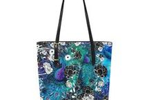 Handbags and Cases Gorgeous Prints by Juleez / Juleez Designer Handbags Fine Art Purses by artist Julie Borden. Gorgeous Print Handbags and Cases by Juleez
