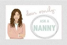 Keep Calm AND Nanny On / Info and helpful tips on being a baby sitter and nanny. / by Lina Fulmer