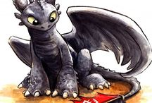 Dragons / Toothless is ADORABLE!