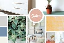 Inspiration au salon / Pour se détendre, partager, rêvasser, le salon est une pièce de vie essentielle dans une maison. Vous manquez d'idées pour l'aménager ? Inspirez-vous de nos différents styles.
