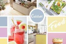 Idées de cuisine / La cuisine, un lieu de vie et de partage qui rythme le quotidien de tous. Ainsi, il est primordial de bien choisir son style et ses couleurs ! Choisissez donc une cuisine qui vous ressemble ! Pour avoir quelques idées, laissez-vous inspirer par notre sélection ⤵️