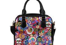 Sugar Skull Gift Shop by Juleez / Colorful Sugar Skull Art Print by Juleez on amazing clothing, shoes and home decor