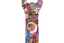 Wine Totes Colorful Wine Holder By Juleez / Wine Totes Colorful Wine Holders By Juleez