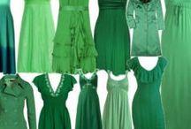 Green summer combinaciones / Colorimetría