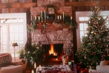 The Log Cabin at Christmas / Is there anything more perfect to decorate for the holidays than a log home?