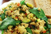 Vegetarian & Vegan Breakfasts / Lacto ovo vegetarian and vegan breakfasts. #vegetarian #vegan #breakfast / by Cedar House Inn & Yurts